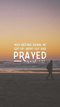 Image result for jesus mark lonely place to pray