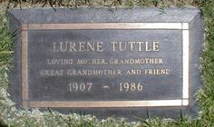 "Lurene Tuttle - American character actress and acting coach, who made the transition from vaudeville to radio, and later films and television. Her most enduring impact was as one of network radio's most versatile actresses. Often appearing in 15 shows a week, comedies, dramas, thrillers, soap operas, and crime dramas, she became known as the ""First Lady of Radio""."