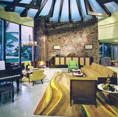 Living room design - Home Furnishings Guide, 1967