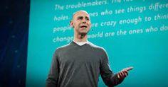 Penseurs originaux : Le psychologue organisationnel Adam Grant étudie les « originaux » : les penseurs qui rêvent et trouvent de nouvelles idées puis