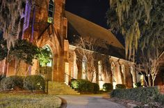 Exterior of St. John's Episcopal Church, Tallahassee, Florida