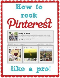 How to Rock Pinterest Like a Pro