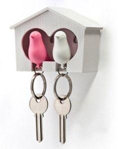 Love Bird Key Holder For Lovers