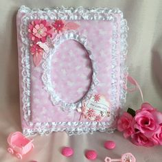 "Handmade /""Little Princess/"" 100pg Pocket Album"