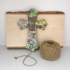 https://www.etsy.com/listing/463194982/decorative-cross-faux-succulents