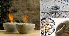 Cómo hacer una fogata en miniatura para adornar tu mesa