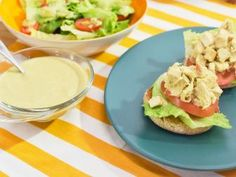 Chicken Salad with Caesar Dressing Recipe | Food Network