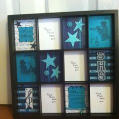 Love the CTMH Display Tray. I made this item for a silent auction for my son's high school band.