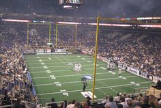 Great seats at a Arizona Rattlers game.