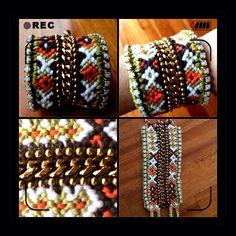 Diy statement handmade friendship bracelet !