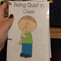 Practically Speeching: Being Quiet in Class - A Social Story Packet Pinned by SOS Inc. Resources. Follow all our boards at pinterest.com/sostherapy for therapy resources.