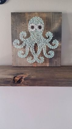 String art Octopus by TrashyAshleys on Etsy