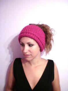 Girly headband / color made to order/ one by KaterinakiJewelry Warm Headbands, Ear Warmer Headband, Ear Warmers, Girly, Wool, Hats, Handmade, Fashion, Hand Made