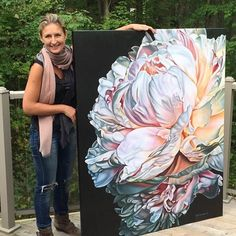 21 Rising Artists Who Caught Our Eye in 2016 Peony Painting, Flower Painting Canvas, Watercolor Flowers, Watercolor Paintings, Floral Print Wallpaper, Vintage Floral Wallpapers, Art Floral, Cool Paintings, Painting Inspiration