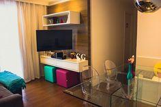 Apartamento da Leitora | Camila Stegle  Combinação de cores