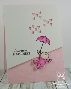 The Crafty Owl   Showers Of Happiness To Welcome Little Miss Croghan Blog Hop