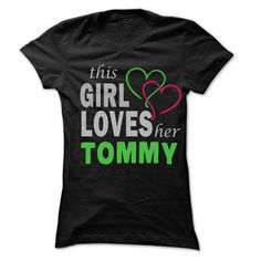 Cool T-shirts  This Girl Love Her TOMMY - 99 Cool Name Shirt   - (3Tshirts)  Design Description: If you are TOMMY or loves one. Then this shirt is for you. Cheers !!!  If you don't utterly love this Tshirt, you can SEARCH your favorite one by the us... -  #camera #grandma #grandpa #lifestyle #military #states - http://tshirttshirttshirts.com/lifestyle/best-discount-this-girl-love-her-tommy-99-cool-name-shirt-3tshirts.html Check more at...