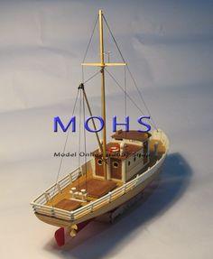 Wooden Model Boats, Wood Boats, Cheap Boats, Model Ship Building, Shrimp Boat, Model Boat Plans, Model Hobbies, Viking Ship, Wooden Ship