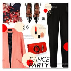 """""""Dance Party! (2)"""" by polly301 ❤ liked on Polyvore featuring Balenciaga, Clover Canyon, Paper London, RED Valentino, Lauren B. Beauty, ellapolo, MAC Cosmetics and danceparty"""