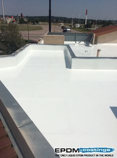 EPDM Coatings provides Liquid EPDM Rubber and EPDM Liquid Roof coatings for roof leaks repair. EPDM is a Cost Effective and Do It yourself Solution by EPDM Coatings for residential and commercial roofing projects. Liquid Roof, Elastomeric Roof Coating, Epdm Roofing, Rubber Roofing, Roof Sealant, Roof Leak Repair, Roofing Options, Commercial Roofing, Roofing Contractors
