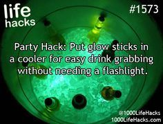 15 Glow Stick Hacks for Camping, Parties, Survival, & More! | How Does She