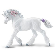 This is a Unicorn Baby animal figure that is produced by Safari. Safari is well known as a stellar manufacturer of animal figures and things from the world of natural sciences, but they also do a fant