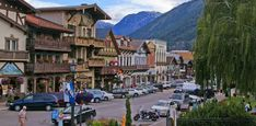 Leavenworth, Washington - The entire town (population: 1,992) is modeled after a Bavarian village. | The 12 Cutest Small Towns In America via @PureWow