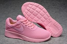 Womens Nike Tanjun All Pink Running Trainers