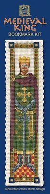 Medieval king #bookmark #cross stitch kit - #textile heritage,  View more on the LINK: http://www.zeppy.io/product/gb/2/331770141291/