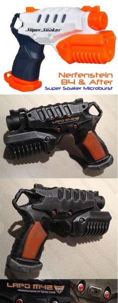 Nerf Super Soaker Microburst Blade Runner blaster pistol.