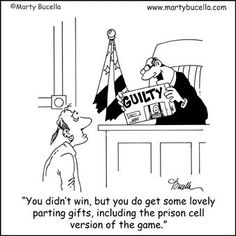 Here is your Friday dose of legal humor.