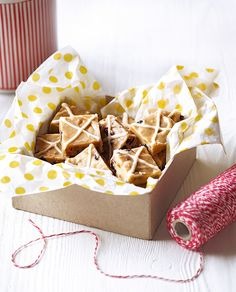 Hope and Greenwood's fudge recipe is given an Easter twist with the addition of hot cross bun spices and fruits.