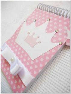♡ Breakfast at Shawna's ♡ Diy Crafts For Girls, Diy Arts And Crafts, Paper Crafts, Princess Birthday, Baby Birthday, File Decoration Ideas, Fairy Tale Crafts, Dot Grid Notebook, Cool Notebooks