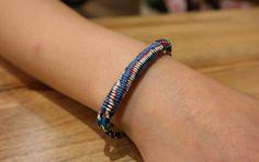 Stylish bracelet, Mixed Color Bracelet, Friendship and Couple Bracelets, Daily Accessories by River163 on Etsy