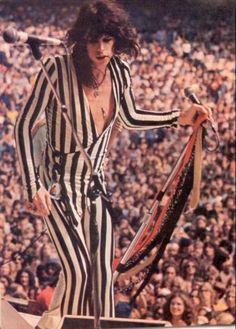 Steven Tyler on stage.