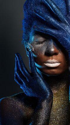 Paint Photography, Creative Photography, Photography Aesthetic, Life Photography, Black Women Art, Black Art, Black Is Beautiful, Beautiful Women, Kreative Portraits