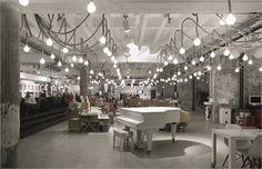 Supermarket Concept Store - restaurant bar fashion design spa - Belgrade, Serbia - 2008 - Remiks