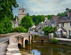 Castle Combe, England, UK | Flickr - Photo Sharing!