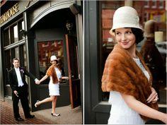 Bruid in Stijl: Speakeasy vintage bruiloft: De belangrijkste ingrediënten!   1920s-1930s prohibition party style wedding