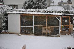 kaninchenstall winterfest machen