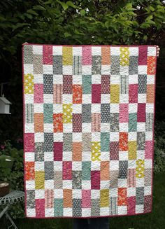 Diary of a Quilter - a quilt blog: Hope Valley Bricks Quilt