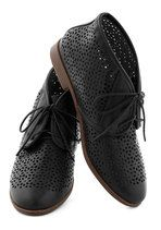 Frolic to the Fun Bootie in Black | Mod Retro Vintage Flats | ModCloth.com