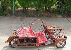 1959 Velorex Oskar Microcar for sale: photos, technical specifications, description Electric Trike, Austin Seven, Custom Trikes, Microcar, Reverse Trike, Trike Motorcycle, Third Wheel, New Tyres, Car Manufacturers
