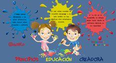 PRINCIPIOS  EDUCACIÓN  CREADORA