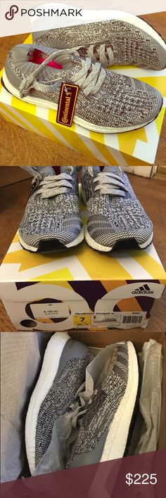 SOLD OUT UltraBOOST Uncaged 7 New in box. The most comfortable yet stylish shoes on earth. Sold out online and in stores. Grey size 7. No trades. Adidas Shoes Athletic Shoes