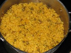 Arroz con gandules (Puerto Rican Rice and Beans)