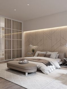 📌 Modern Bedroom Inspiration or Bedroom Design Ideas « ANIPO Modern Luxury Bedroom, Master Bedroom Interior, Luxury Bedroom Design, Modern Master Bedroom, Bedroom Furniture Design, Home Room Design, Master Bedroom Design, Luxurious Bedrooms, Home Decor Bedroom