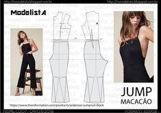 ModelistA: 2016-03-06 Dress Sewing Patterns, Sewing Patterns Free, Clothing Patterns, Fashion Sewing, Diy Fashion, Ideias Fashion, Diy Clothing, Sewing Clothes, Diy Pantalon