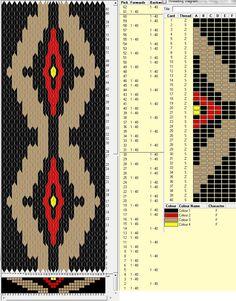40 tarjetas hexagonales, 4 colores, repite esquema cada 30 movimientos // sed_220_c6༺❁