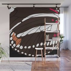 Butterfly Wings, Fabric Panels, Wood Wall Art, Second Floor, Wall Tapestry, Wall Murals, Vibrant Colors, Walls, Wall Decor